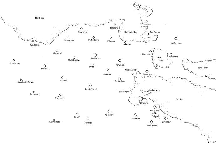 MG-Map for clarity